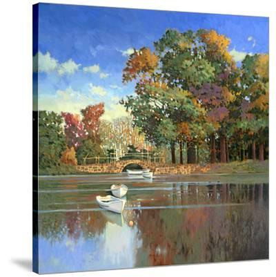 Early Autumn in the Loire-Max Hayslette-Stretched Canvas Print