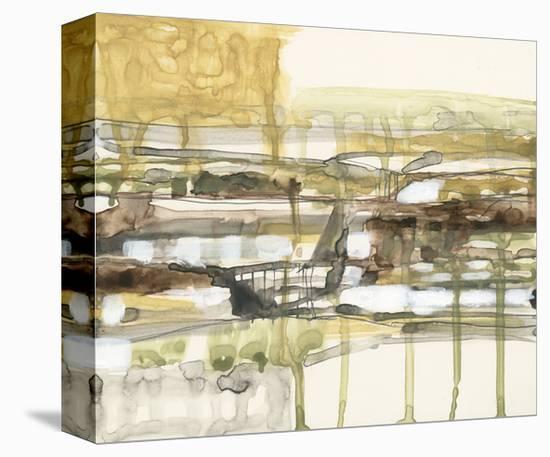 Earth Layers I-Jennifer Goldberger-Stretched Canvas Print