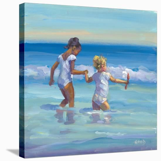 Easy Does It-Lucelle Raad-Stretched Canvas Print