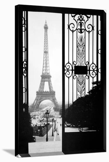 Eiffel Gates, 1925--Gallery Wrapped Canvas