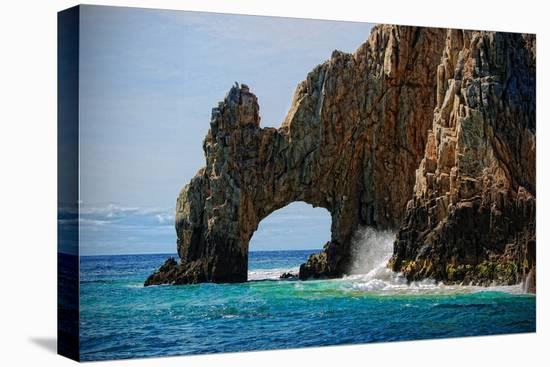 El Arco De Cabo San Lucas-www.infinitahighway.com.br-Stretched Canvas Print
