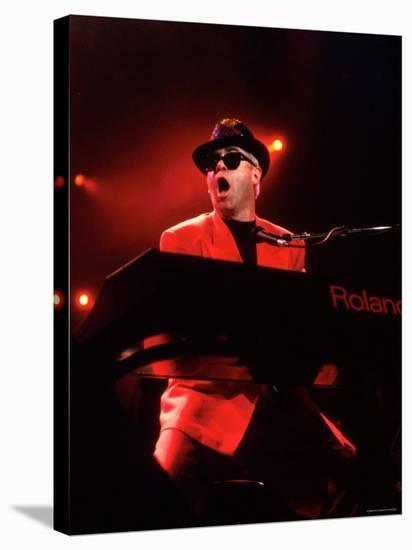 Elton John--Stretched Canvas Print