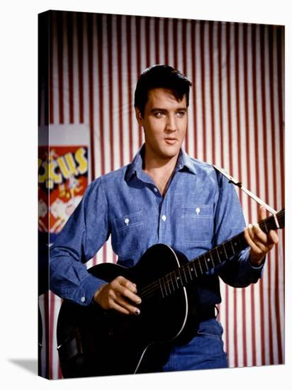 Elvis Presley 1964--Stretched Canvas Print