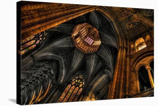 Ely Cathedral Cambridgeshire--Stretched Canvas Print