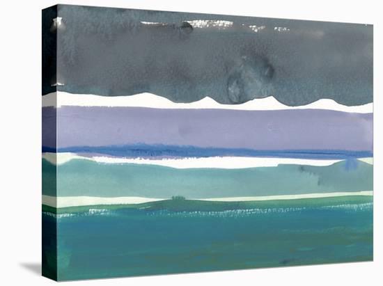 Emerald Horizon at Sea Ranch-Rob Delamater-Stretched Canvas Print