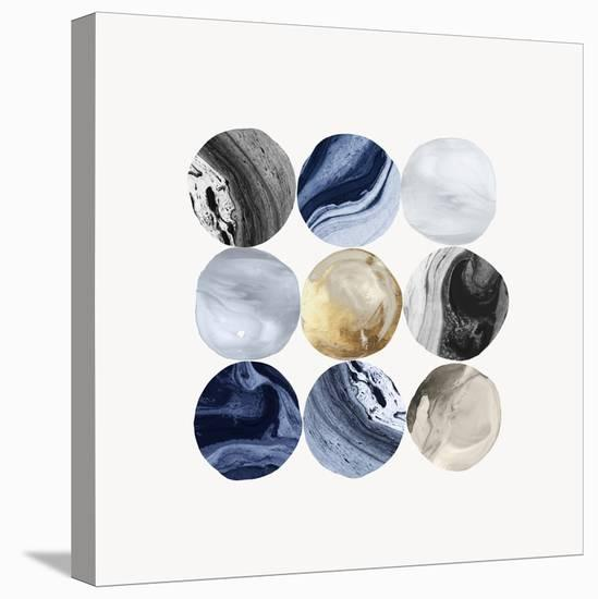 Encompass Marble I-PI Creative Art-Stretched Canvas Print
