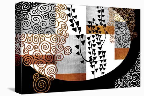 Encompassing Klimt-Michael Timmons-Stretched Canvas Print