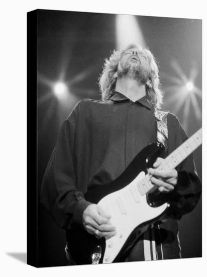 Eric Clapton--Stretched Canvas Print