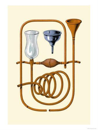 Esophageal Sounds-Jules Porges-Stretched Canvas Print