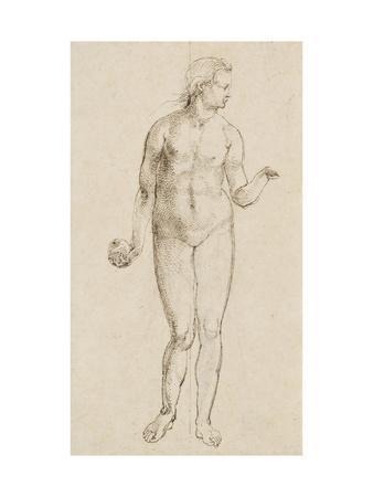 Eve-Albrecht D?rer-Stretched Canvas Print