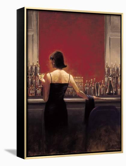 Evening Lounge-Brent Lynch-Framed Canvas Print