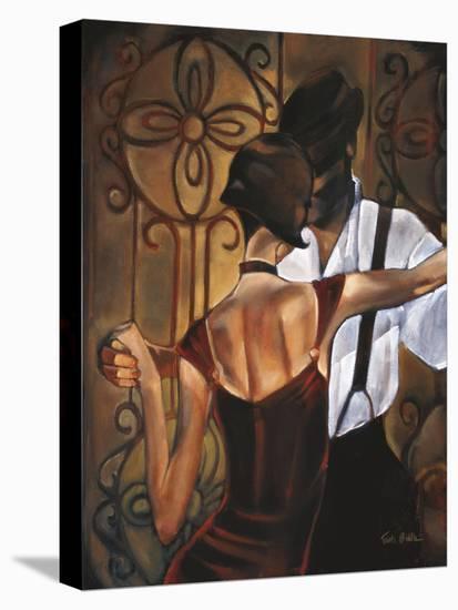 Evening Tango-Trish Biddle-Stretched Canvas Print