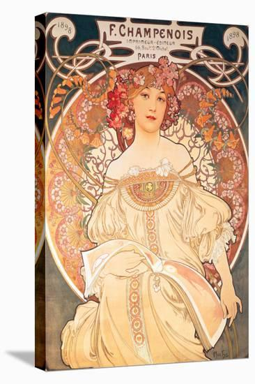 F. Champenois, France, 1898-Alphonse Mucha-Stretched Canvas