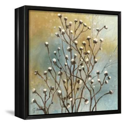 Fall Meadow IV-J^ Adams-Framed Canvas Print