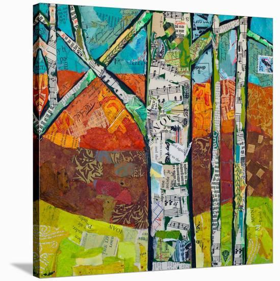 Fall Trees 2--Stretched Canvas Print