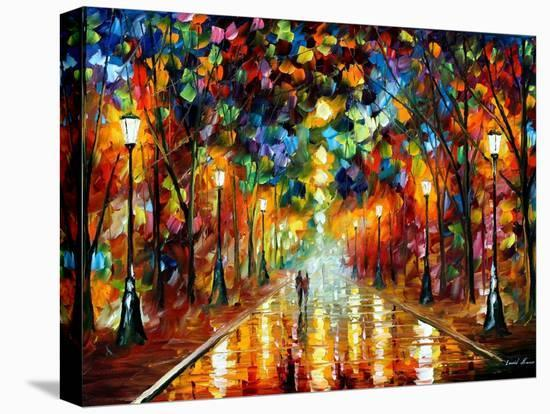 Farewell To Anger-Leonid Afremov-Stretched Canvas Print