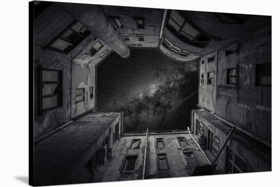 Fashion House-Vlad Cioplea-Stretched Canvas Print