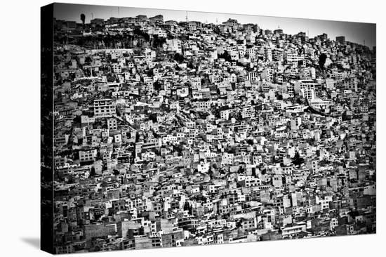 Favela Village In El Alto, La Paz, Bolivia-Joel Alvarez-Stretched Canvas Print