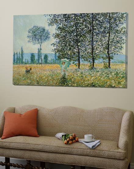 Feild in Spring-Claude Monet-Loft Art