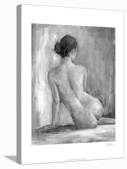 Figure in Black and White I-Ethan Harper-Stretched Canvas Print