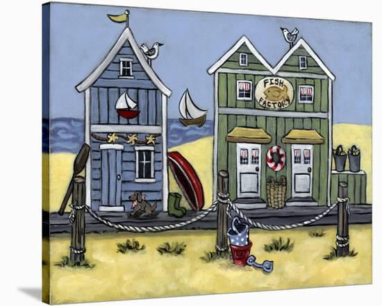 Fish Factory--Stretched Canvas Print