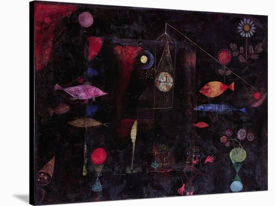 Fish Magic-Paul Klee-Stretched Canvas Print