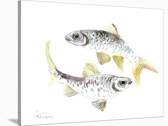 Fish-Suren Nersisyan-Stretched Canvas Print