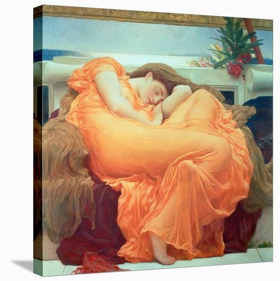 Flaming June, c.1895-Frederick Leighton-Stretched Canvas Print