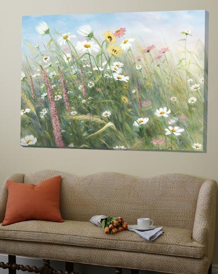 Fleurs des champs-Hélène Léveillée-Loft Art