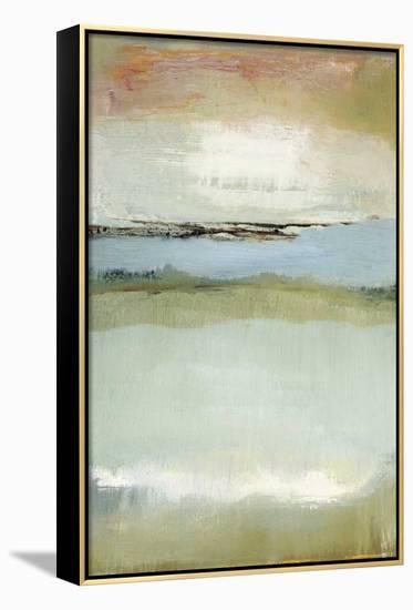 Floating World-Caroline Gold-Framed Canvas Print