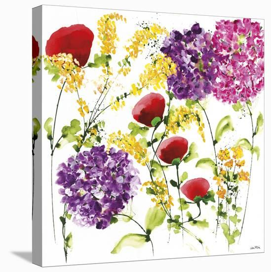Floral Celebration II-Jean Picton-Stretched Canvas Print
