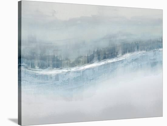 Flowing Aqua-Jake Messina-Stretched Canvas Print