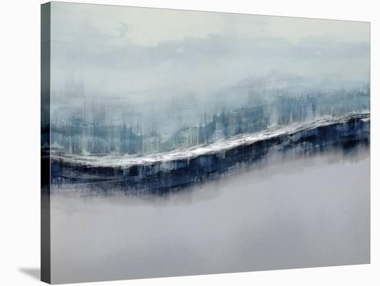 Flowing Gray-Jake Messina-Stretched Canvas Print