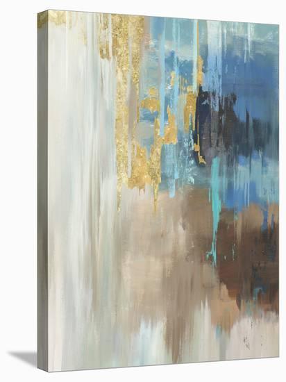 Flurry-PI Creative Art-Stretched Canvas Print