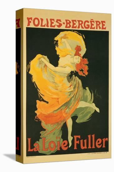 Folies Bergeres-Jules Ch?ret-Stretched Canvas Print