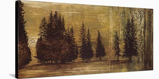 Forest Silhouettes I-Linda Thompson-Stretched Canvas Print