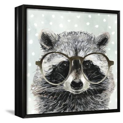 Four-eyed Forester IV-Victoria Borges-Framed Canvas Print