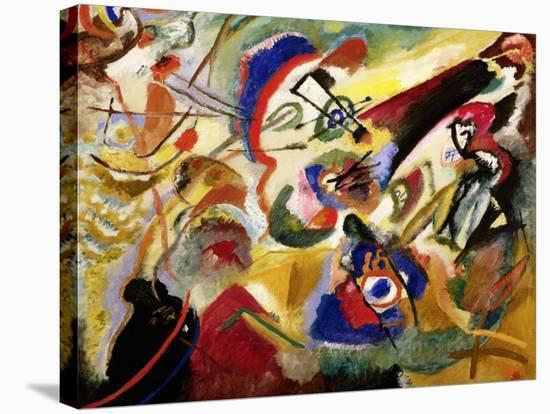 Fragment II for Composition VII-Wassily Kandinsky-Stretched Canvas Print