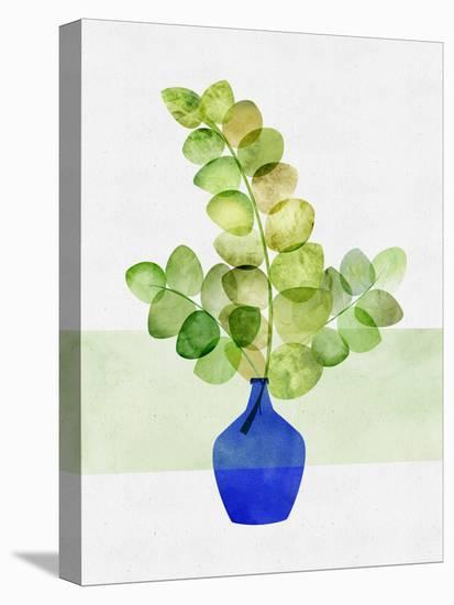 Fresh Eucalyptus--Stretched Canvas Print