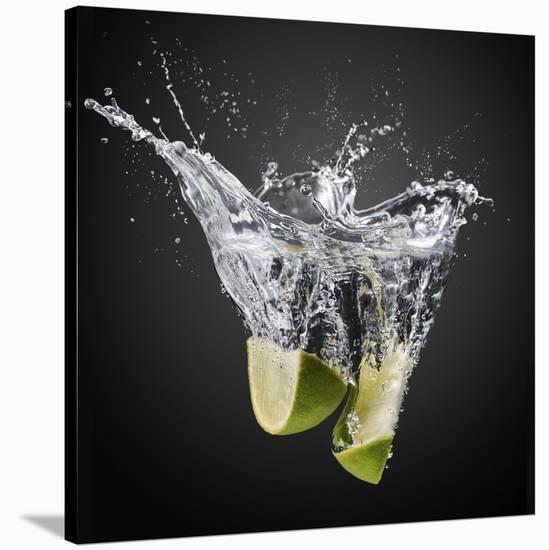 Fresh Limes!-Isma Yunta-Stretched Canvas Print