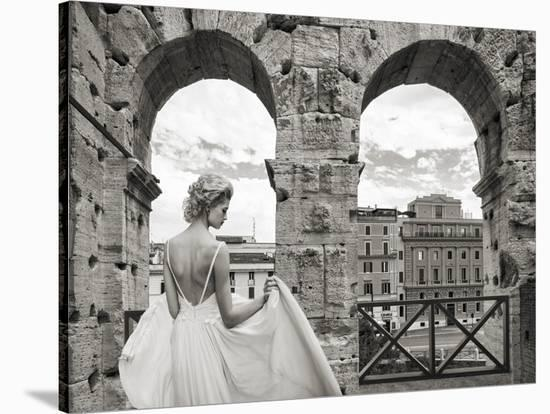 From the Colosseum, Rome-Haute Photo Collection-Stretched Canvas Print
