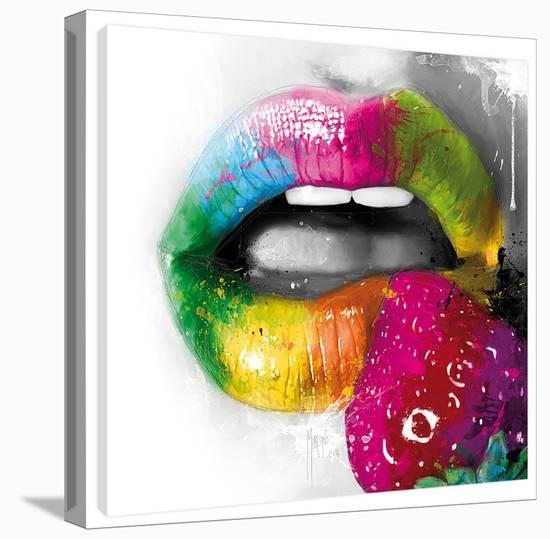 Fruity Kiss II-Patrice Murciano-Gallery Wrapped Canvas