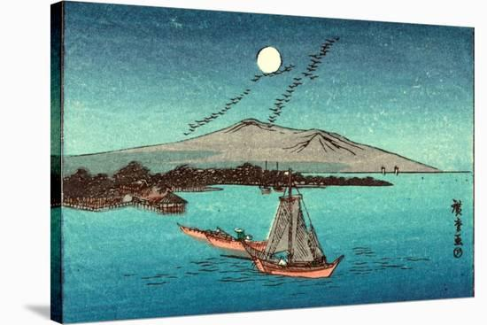 Fukeiga, Between 1900 and 1940 1797-1858-Utagawa Hiroshige-Stretched Canvas Print