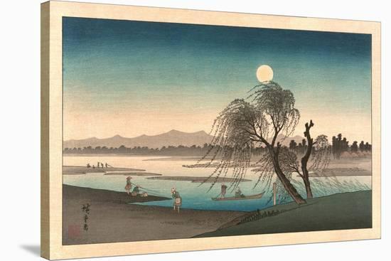 Fukeiga-Utagawa Hiroshige-Stretched Canvas Print