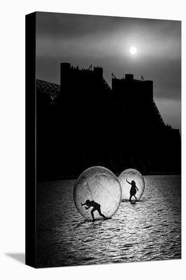 Games in a Bubble--Stretched Canvas Print
