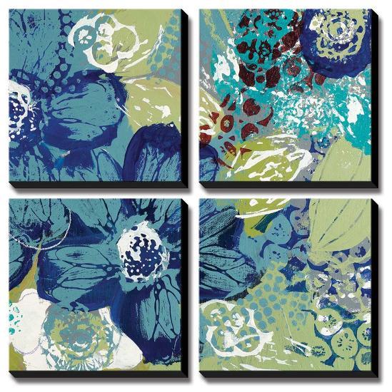 Garden Blues II-Leslie Bernsen-Canvas Art Set