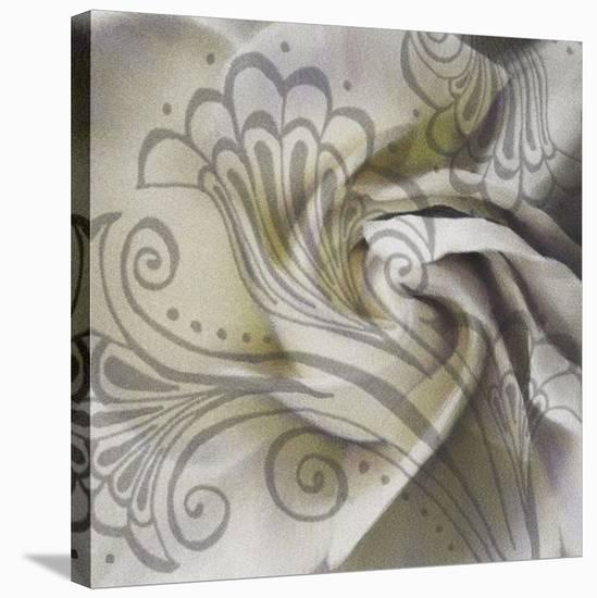 Gardenia-Janel Pahl-Stretched Canvas Print