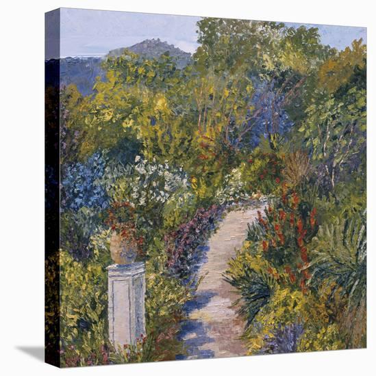 Gardens of Falaise-Tania Forgione-Stretched Canvas Print