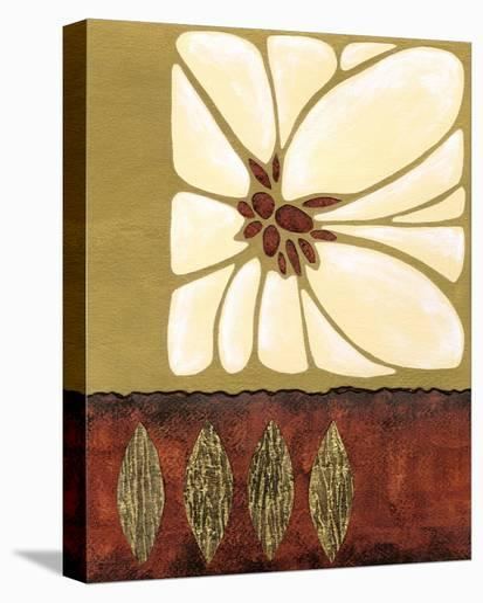 Garnet Moderna II-Nancy Slocum-Stretched Canvas Print