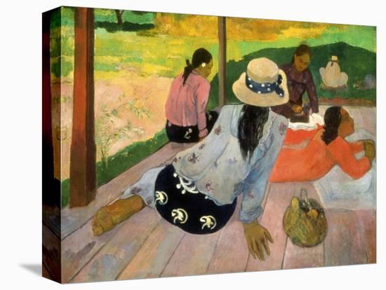 Gauguin: Siesta, 1891-Paul Gauguin-Premier Image Canvas